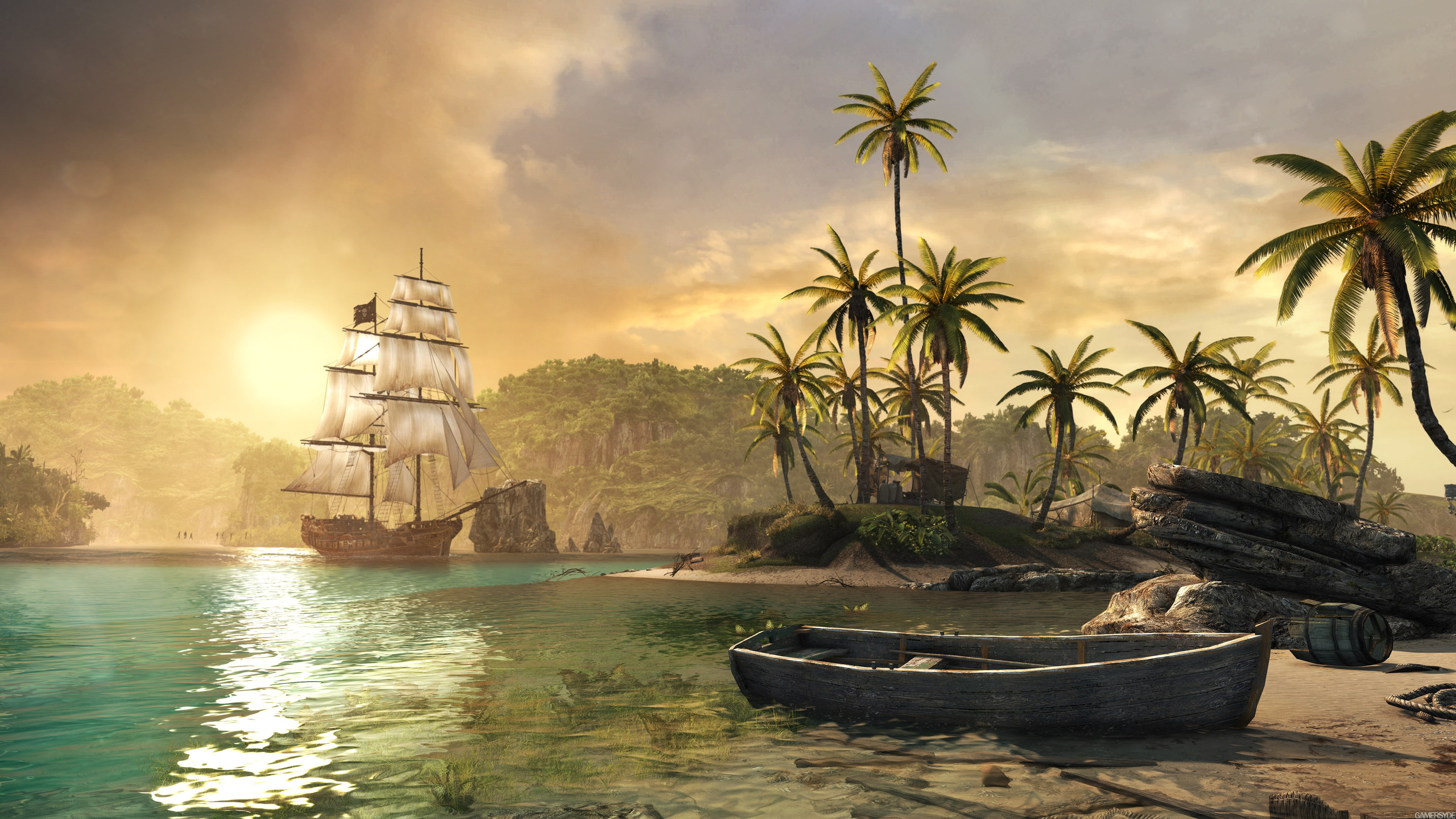 Assassins Creed Iv Black Flag 4k Ultra Hd Wallpaper High Quality