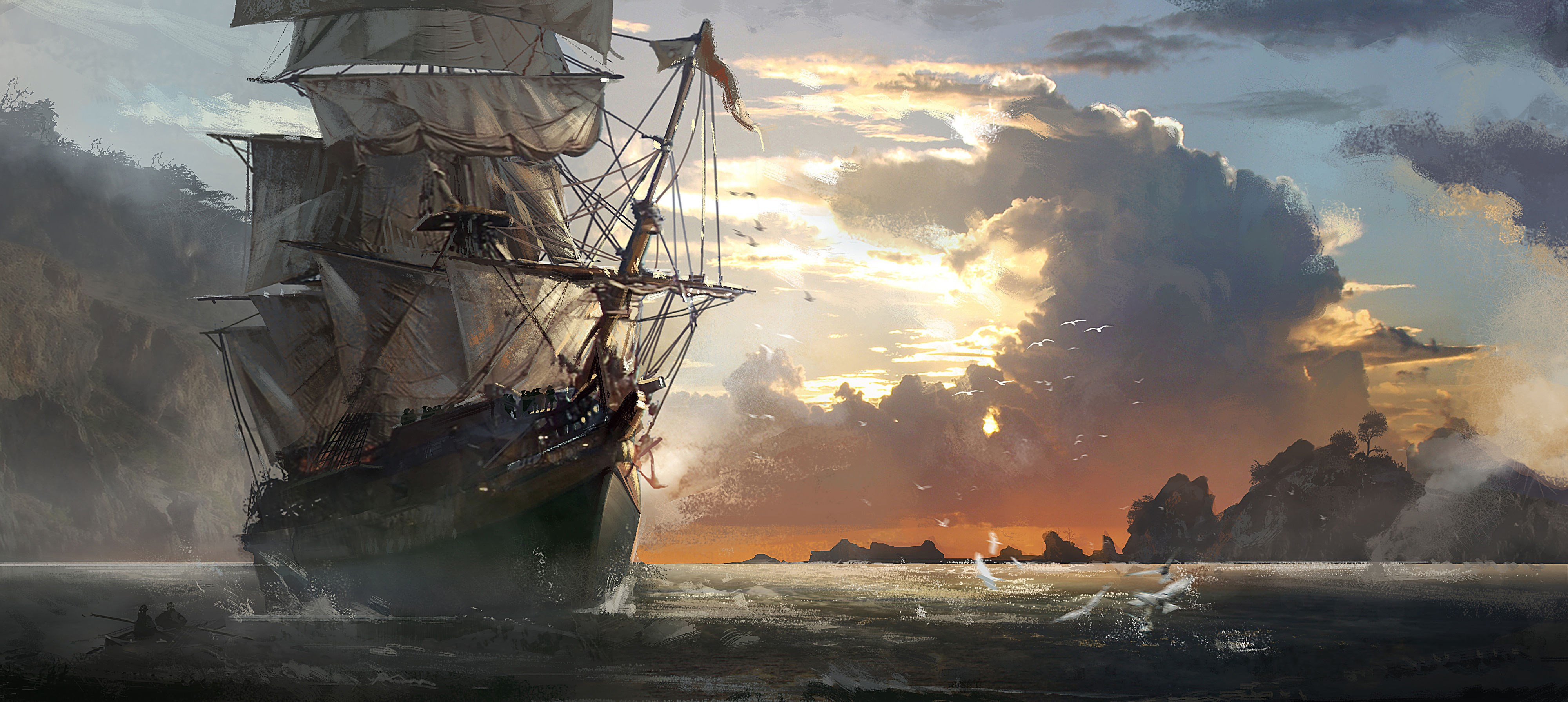 Assassins creed iv black flag 4k ultra hd wallpaper high quality walls assassins creed iv black flag 4k ultra hd wallpaper voltagebd Image collections