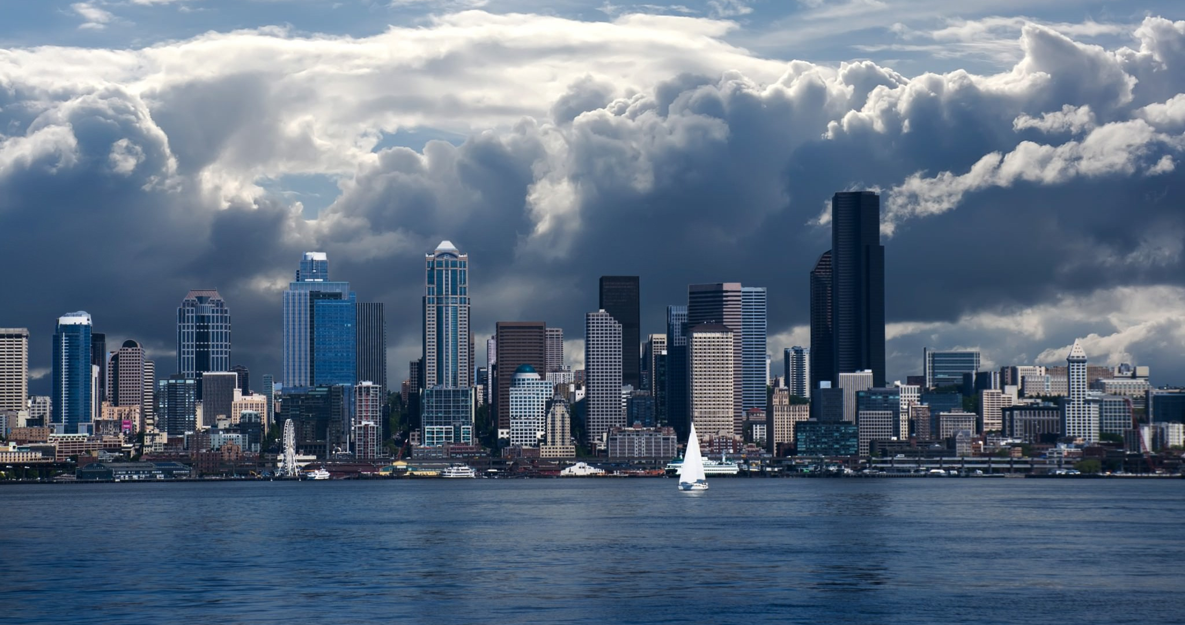Seattle Skyline 4k Ultra Hd Wallpaper High Quality Walls