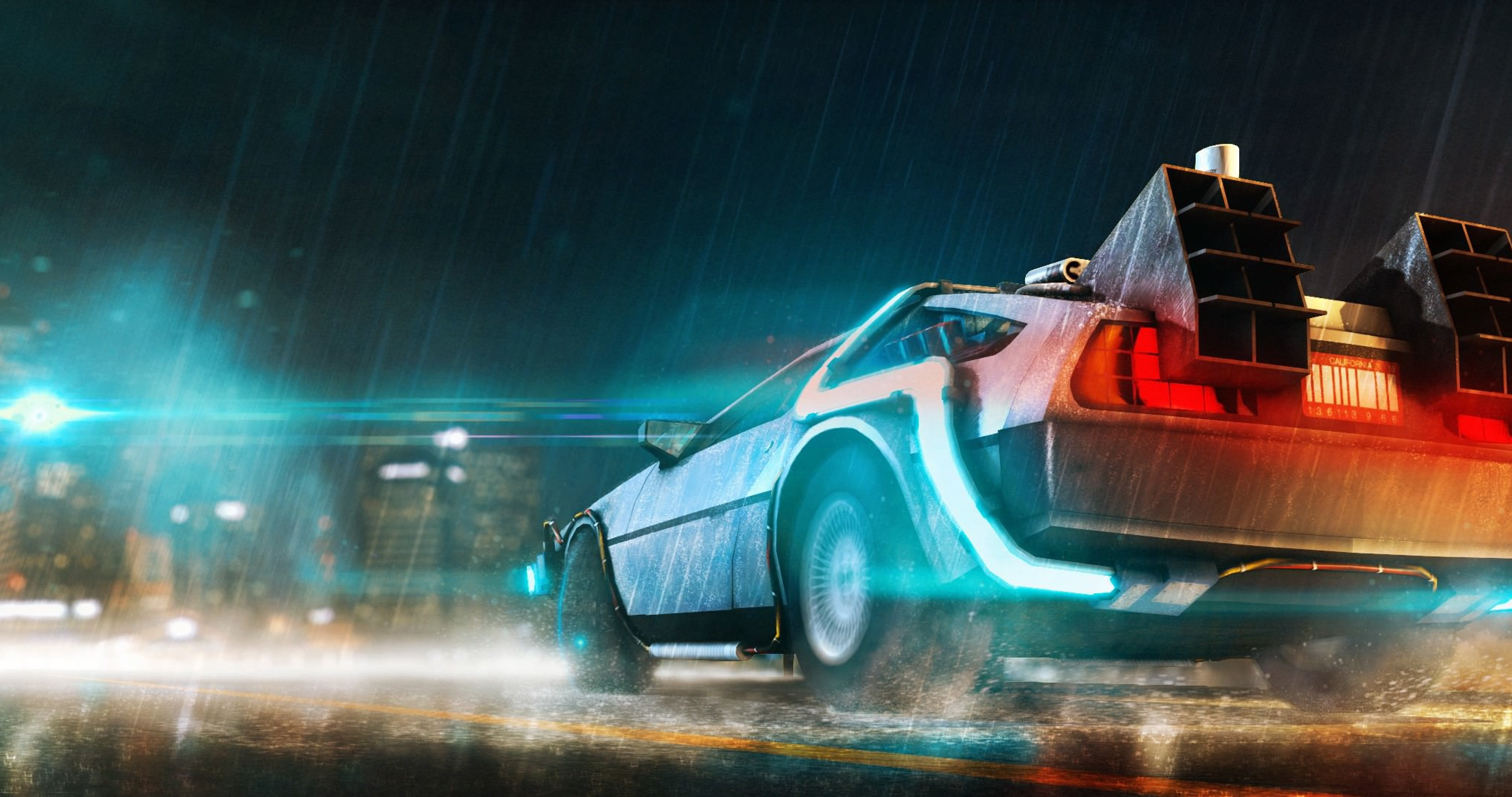 Back To The Future Movie 4k Ultra Hd Wallpaper High