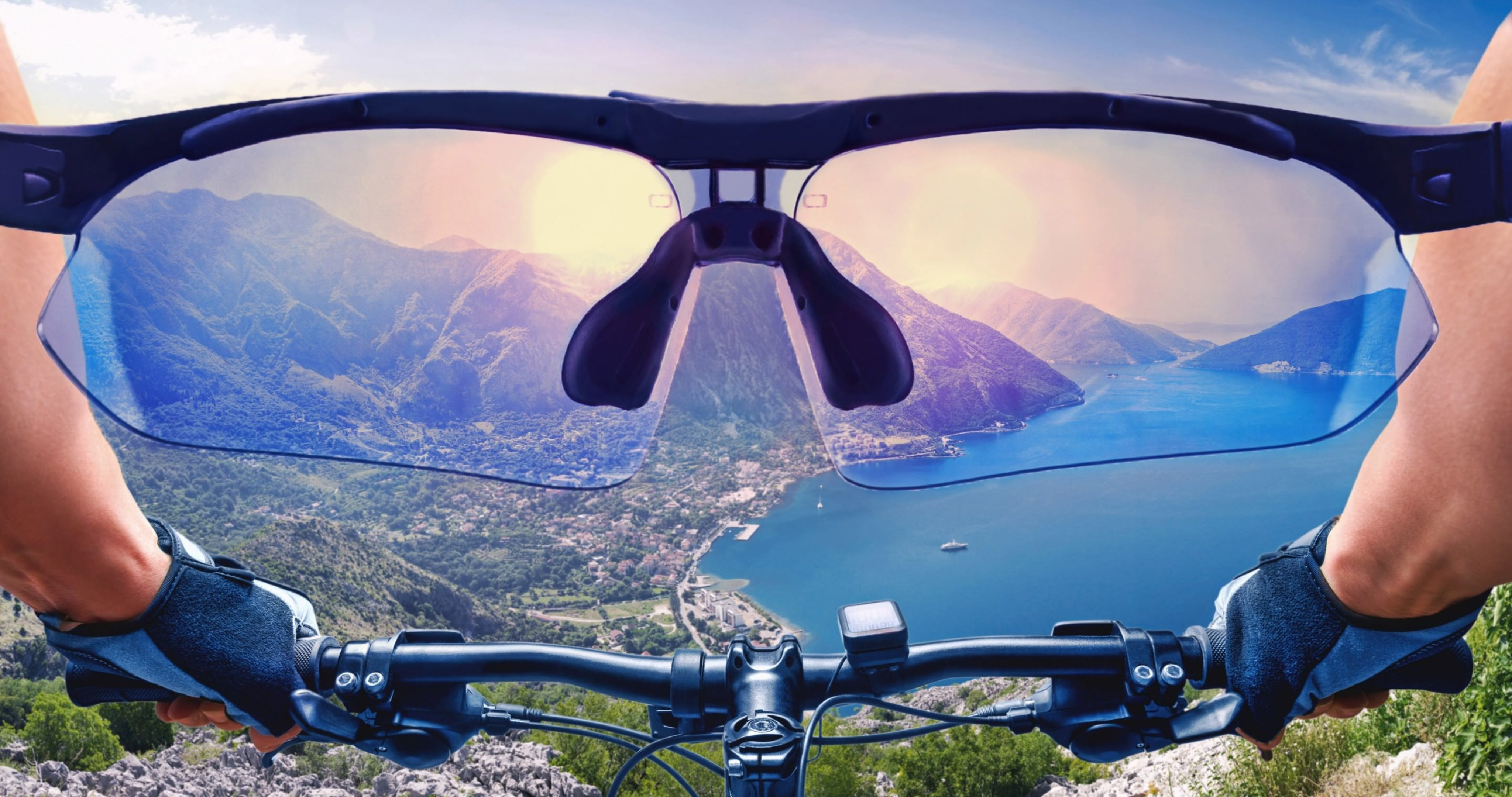Cycling Bike View From First Person 4k Ultra Hd Wallpaper High Quality Walls