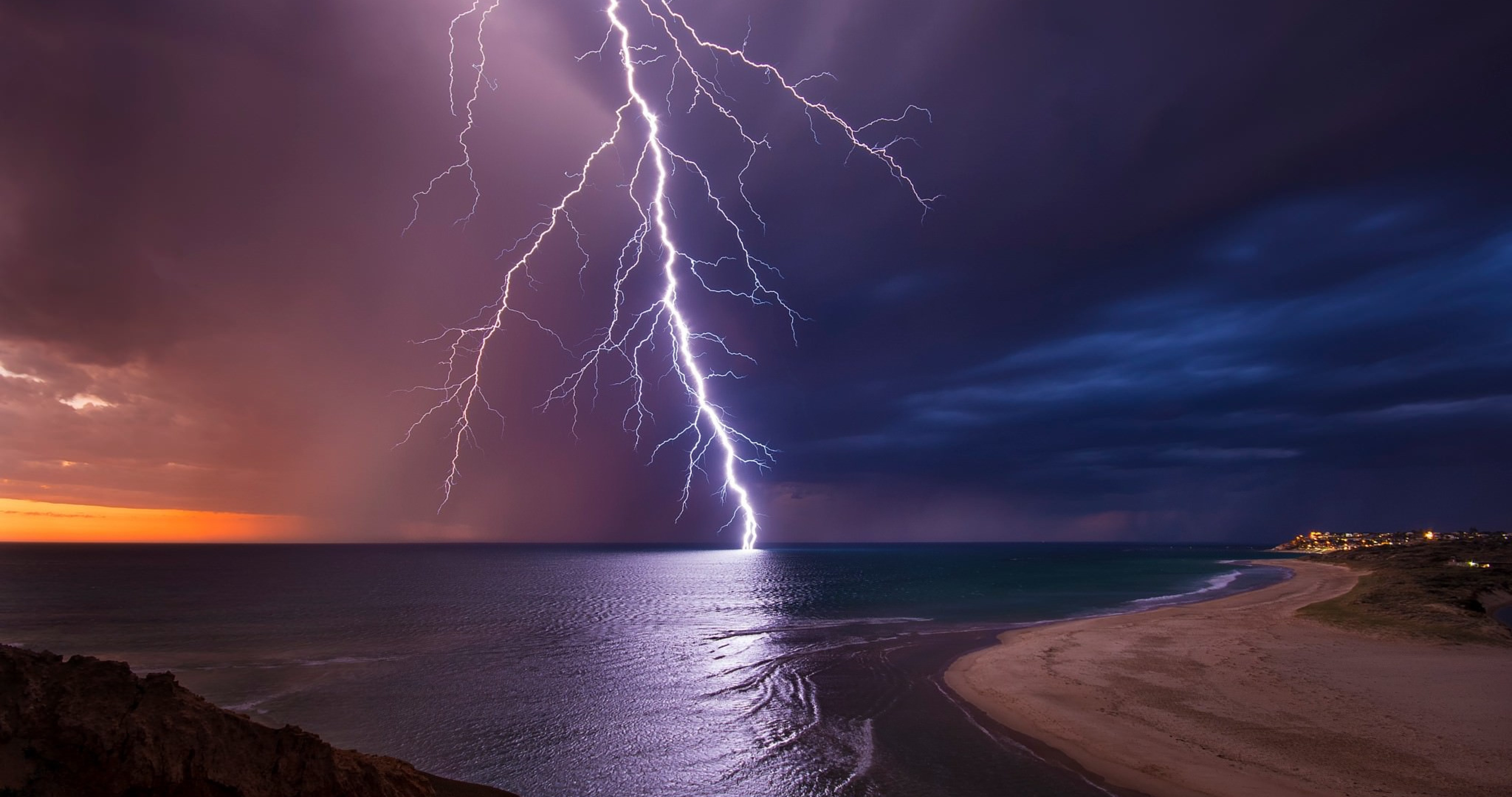 Australia night lightning 4k ultra hd wallpaper high - Hd 4k resolution wallpaper ...