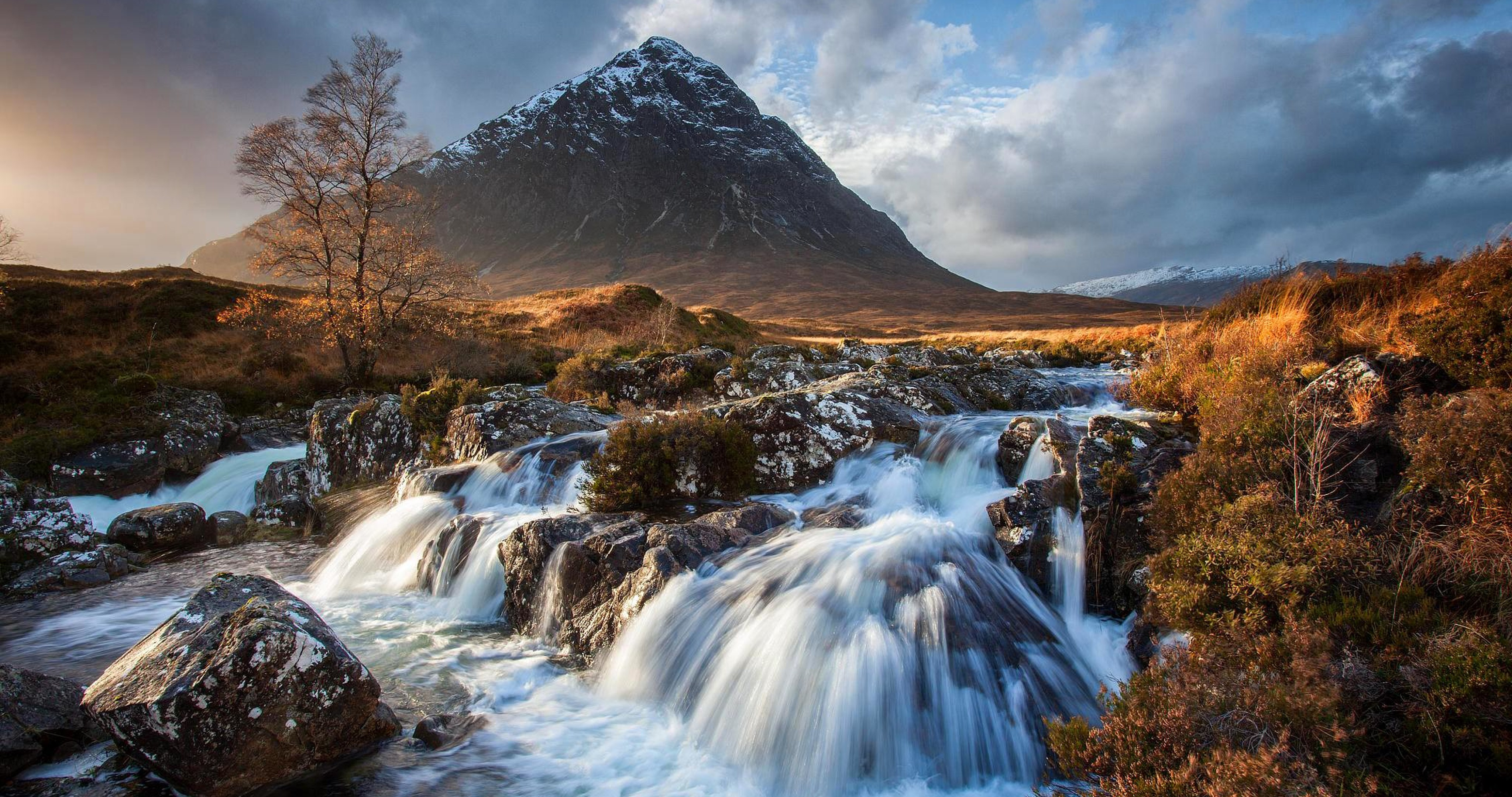 Mountain River Stream 4k Ultra Hd Wallpaper High Quality Walls