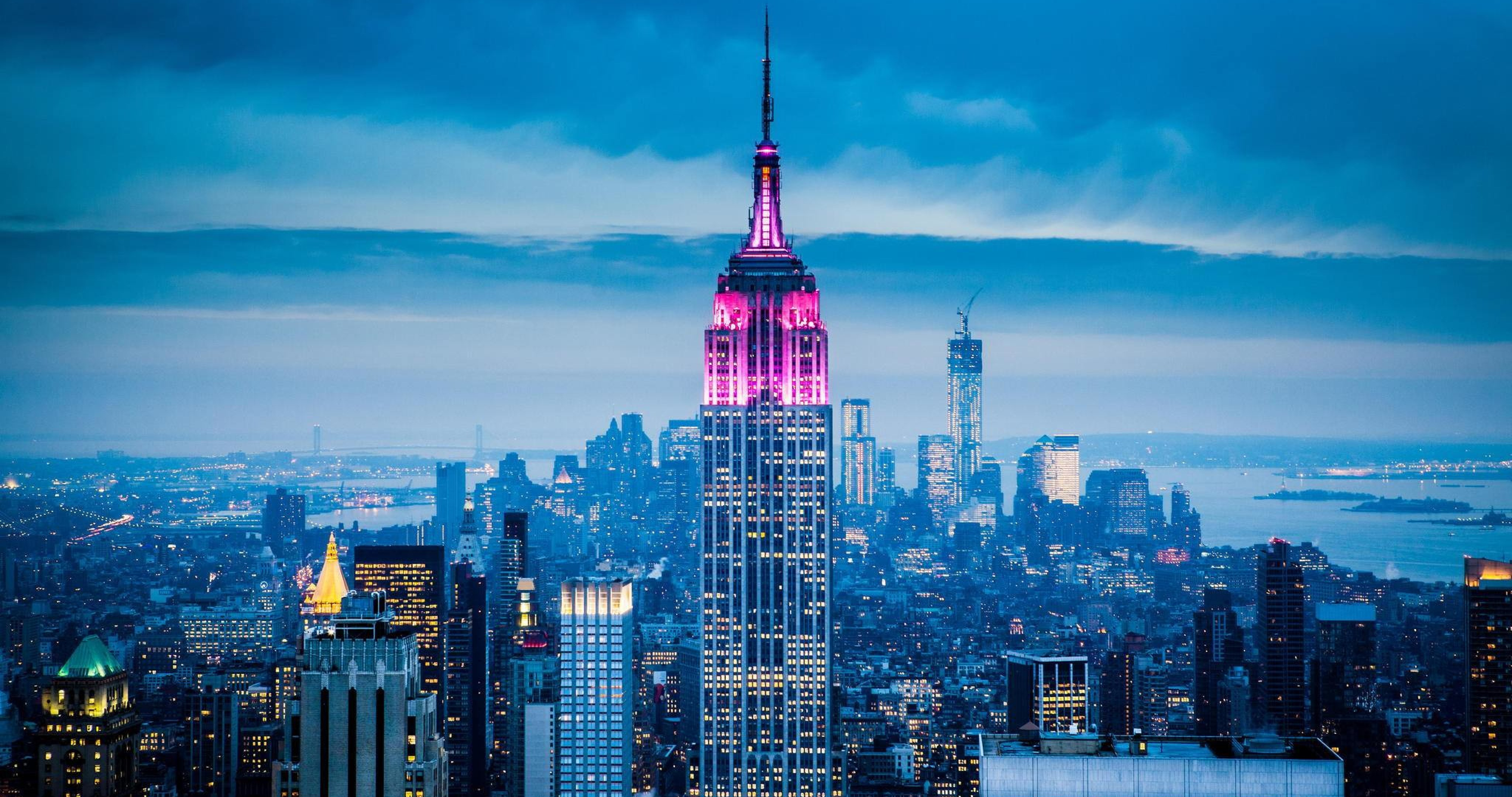 Empire State Building New York City 4k Ultra Hd Wallpaper