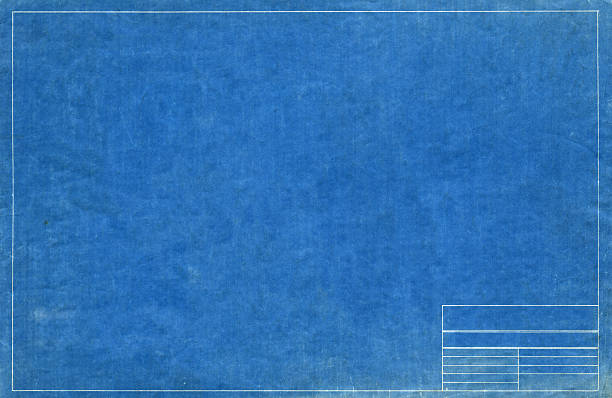 Old blueprint paper background and texture high quality walls blueprint blueprint malvernweather Images